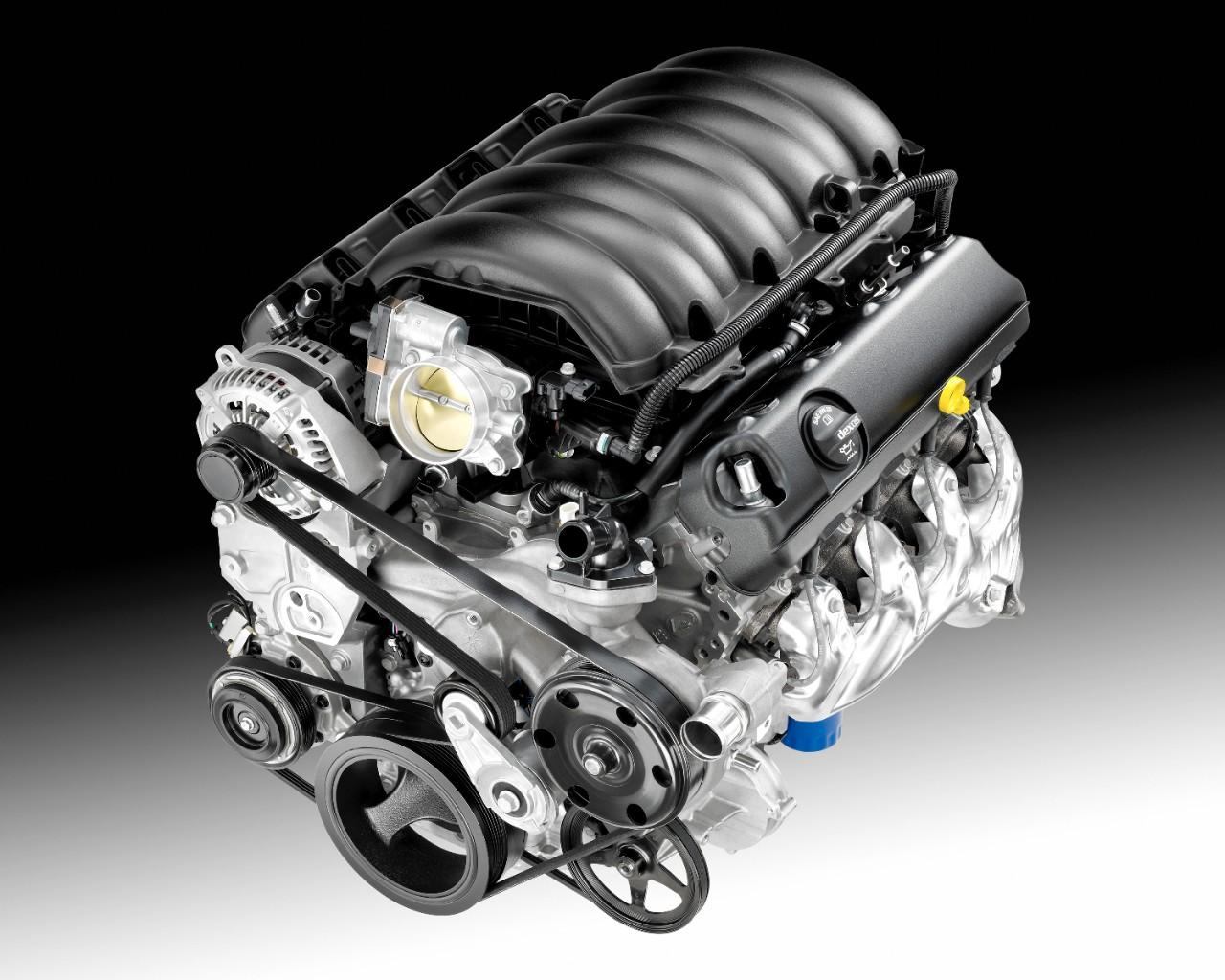 GM 5.3 Liter V8 Vortec engine