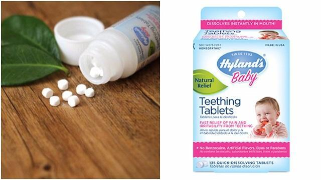 Teething Tablet Recall