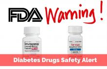 FDA Warning Invokamet, Invokana